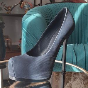 "YSL tribute 6""heel pumps"